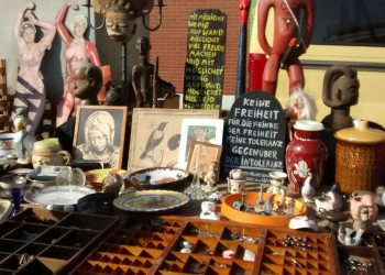 glimpse of flea market at Bremen